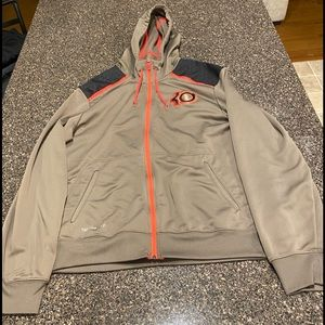 Used Nike Kevin Durant therma-fit zip up jacket.